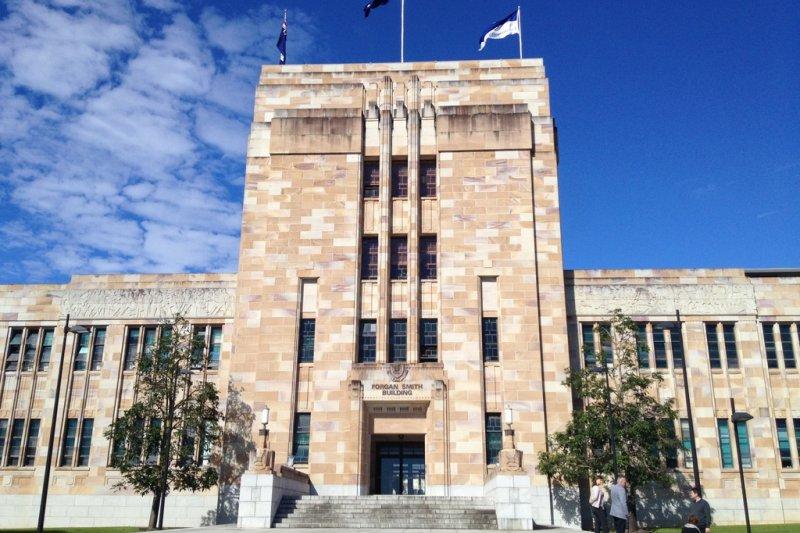 澳洲昆士蘭大學(取自YEC國際教育中心)