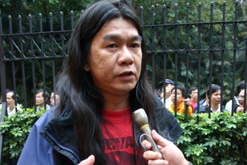 香港立法會議員「長毛」梁國雄(Fuzheado@Wikipedia / CC BY-SA 2.0)