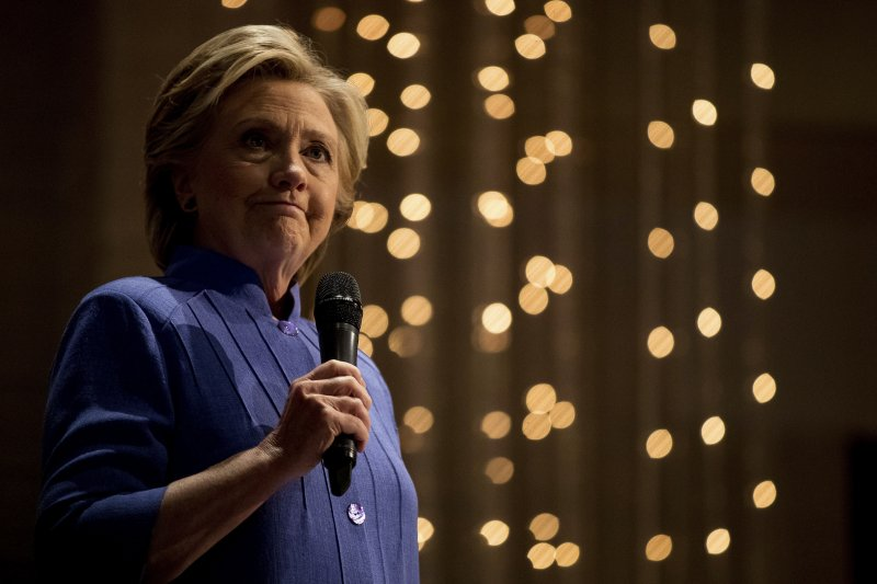 民主黨總統候選人希拉蕊。(美聯社)