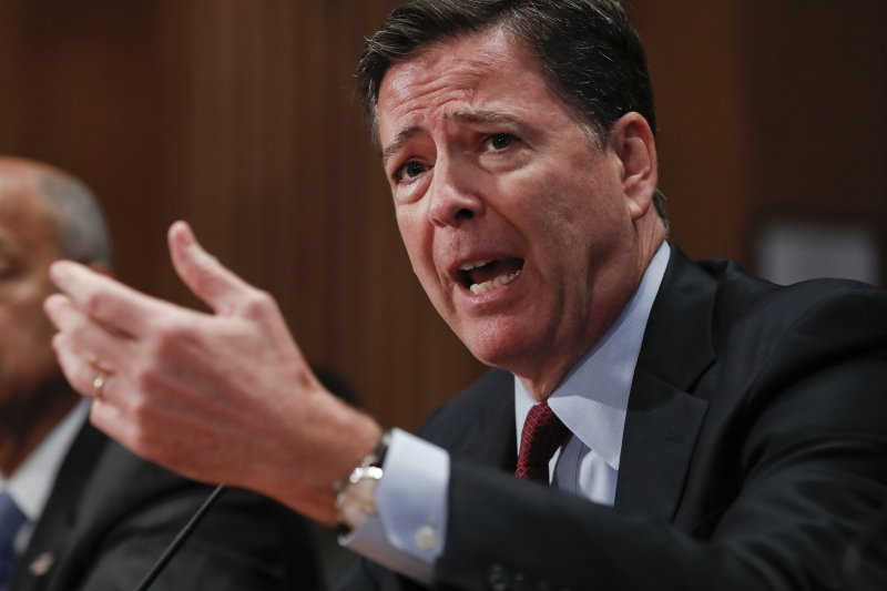 FBI局長柯密。(美聯社)