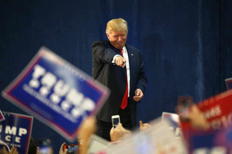 共和黨總統候選人川普。(美聯社)