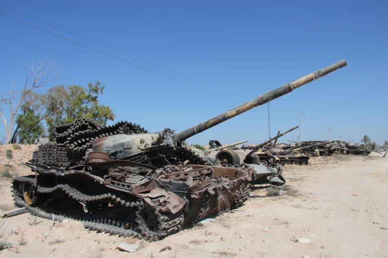 利比亞內戰(joepyrek@Wikipedia / CC BY-SA 2.0)