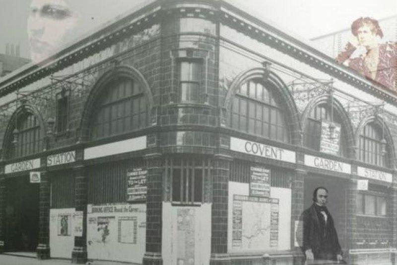 據傳19世紀英國倫敦演員威廉.特里斯(William Terriss)的鬼魂經常出現在地鐵(BBC中文網)