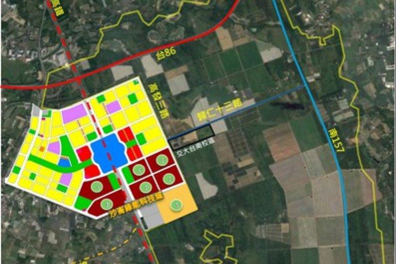 台南市政府認為,沙崙綠能科技城與沙崙農場無關聯,沙崙農場開發仍需經審慎規劃與評估。(台南市新聞及國際關係處提供)