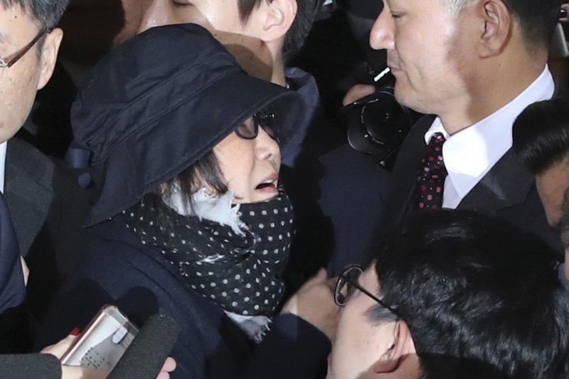 南韓總統朴槿惠「親信門」風暴女主角崔順實(AP)