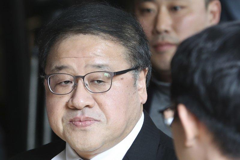 前青瓦台總統府政策調整首席秘書安鐘範。(美聯社)