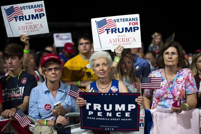即使川普若選,他所代表的反全球化情緒和貧窮白人憤怒等現象,並不會隨著選舉結束而消逝。(美聯社)