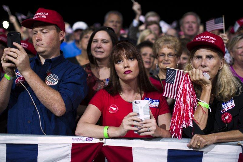 川普的支持者反對全球化和經濟自由化。(美聯社)