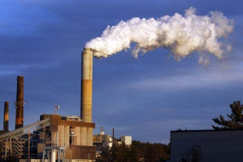 美國新罕布夏州的燃煤發電廠(AP)