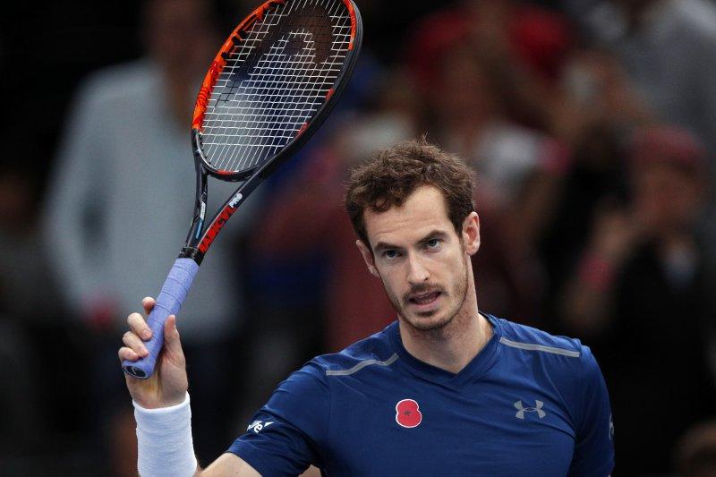 英國網球名將莫瑞近期表示,澳洲網球公開賽可能是他最後一場比賽。(美聯社)