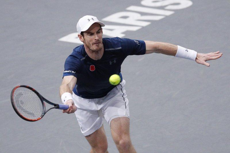 英國網球名將莫瑞。(美聯社)