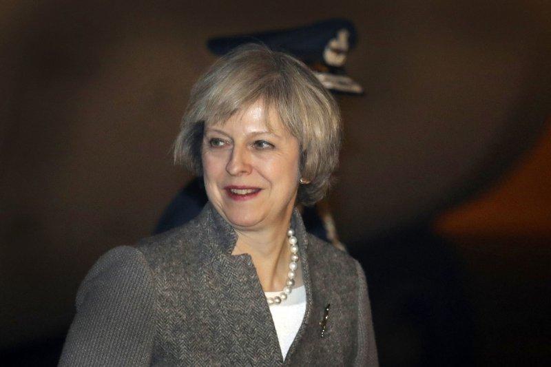 對於英國高等法院的裁定,首相梅伊表示會「以不變應萬變」(美聯社)