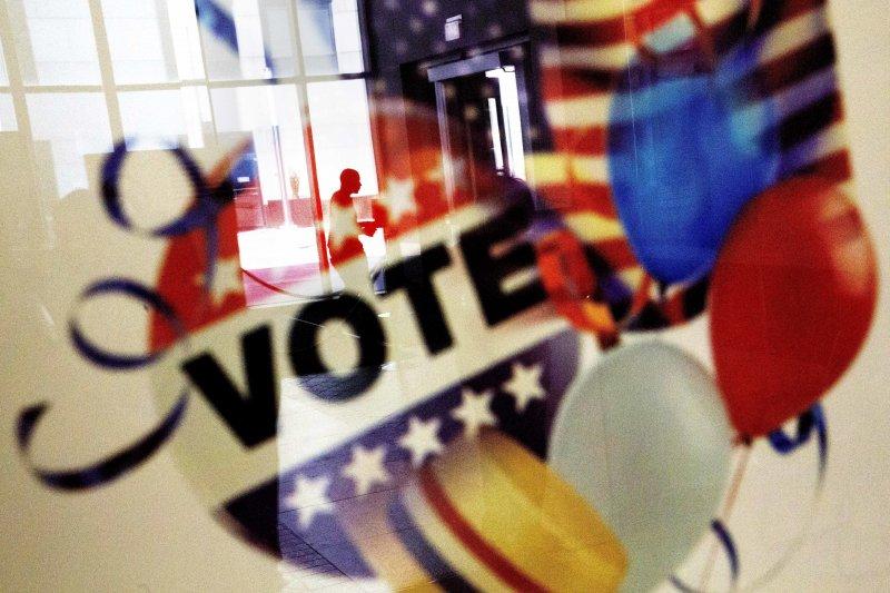 美國總統大選投票廣告(美聯社)