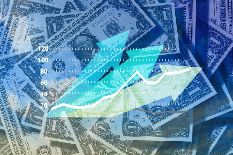 根據台經院2016年11月公布之最新預測,2017年GDP成長率為1.65%,較2016年1.17%提高0.48個百分點。(圖/geralt@pixabay)