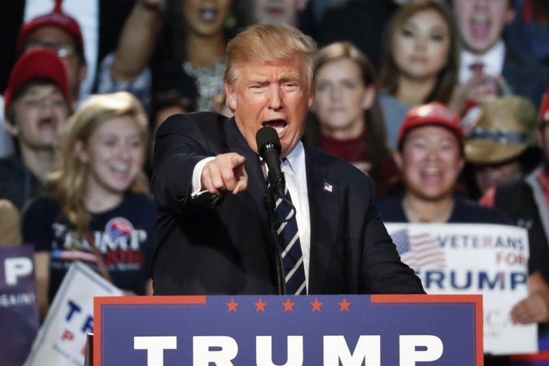 美國共和黨總統候選人川普若勝選,近9成德國人擔憂美德關係生變(美聯社)