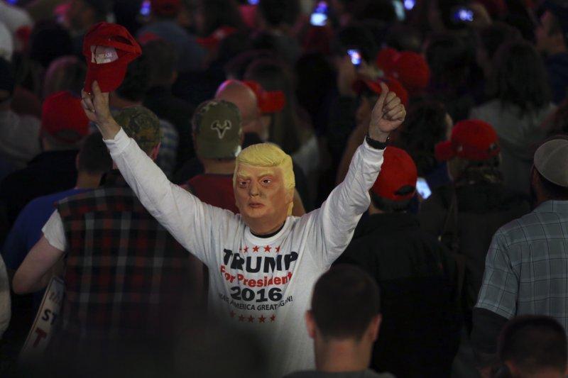 美國共和黨總統候選人川普於投票前1天在賓州造勢(美聯社)