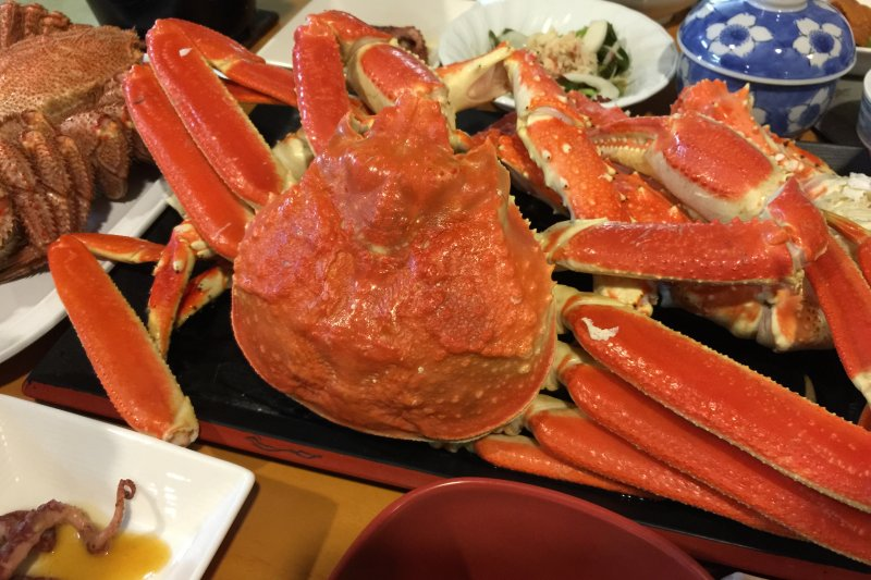 冬季造訪北海道,絕不能錯過鱈場蟹!(圖/bryan...@flickr)