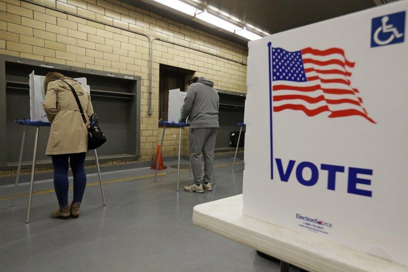 這次美國總統大選約有1億人沒有投票。(美聯社)