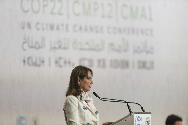 法國環保部長羅雅(Segolene Royal )。(美聯社)