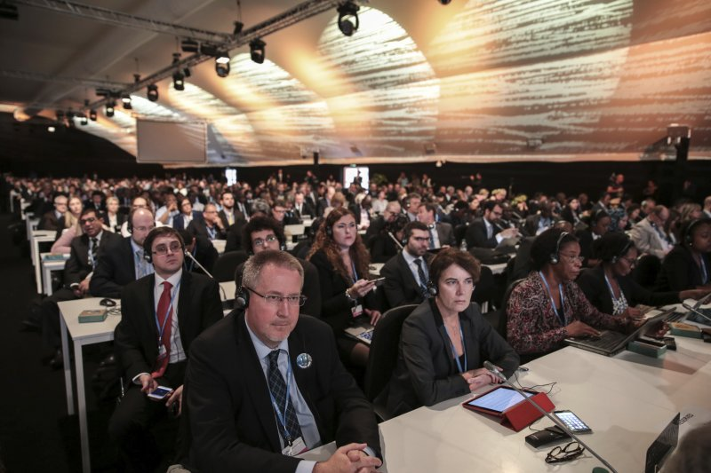 馬拉喀什會議上,來自全球190多個國家和地區的與會者將探討執行《巴黎協定》的技術細節。(美聯社)