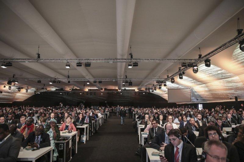 馬拉喀什會議聚集來自全球190多個國家和地區的與會者。(美聯社)