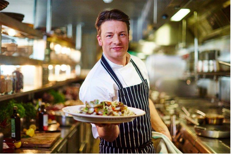 英國名廚傑米‧奧利佛的餐廳在台灣展店,目前正試營運中。(圖/Jamie