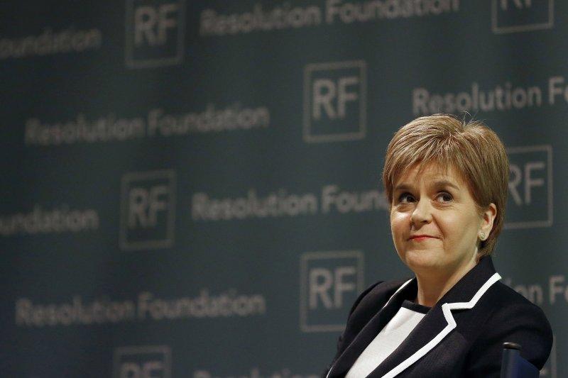 英國最高法院判定脫歐須經國會同意,蘇格蘭首席部長、蘇格蘭民族黨黨魁史特金表示認同(美聯社)