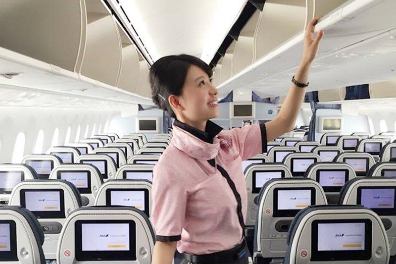 「做空服員不是去旅行,是在做服務業。」(示意圖/ANA.Japan@facebook)