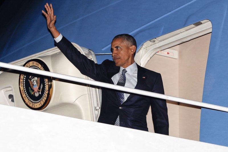 美國總統歐巴馬任內最後一次出訪希臘、德國和秘魯(美聯社)