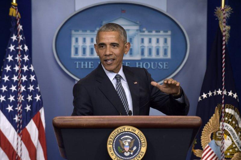 美國總統歐巴馬在選後白宮首場記者會上表示,準總統川普上任後會很快改變態度(美聯社)