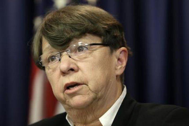 美國證交會主席懷特1月將提早離職。(美聯社)