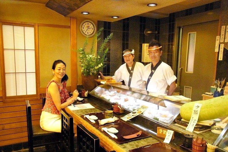 在日本懂得一道菜要從哪兒下箸的人,也只有美食通和具備上流教養的人!(圖/陳弘美提供)