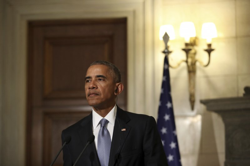 美國總統歐巴馬在卸任前,「指正」川普對「一個中國」政策的理解。(美聯社)