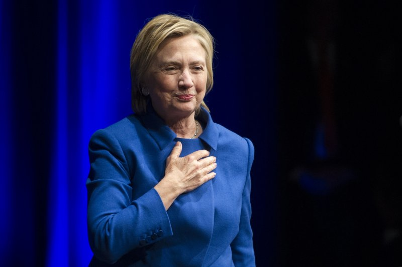 美國民主黨總統候選人希拉蕊在大選失利後首度露面演說(美聯社)