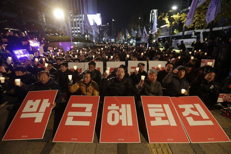 南韓國會通過法案,成立獨立檢察組偵辦「親信門」案(美聯社)