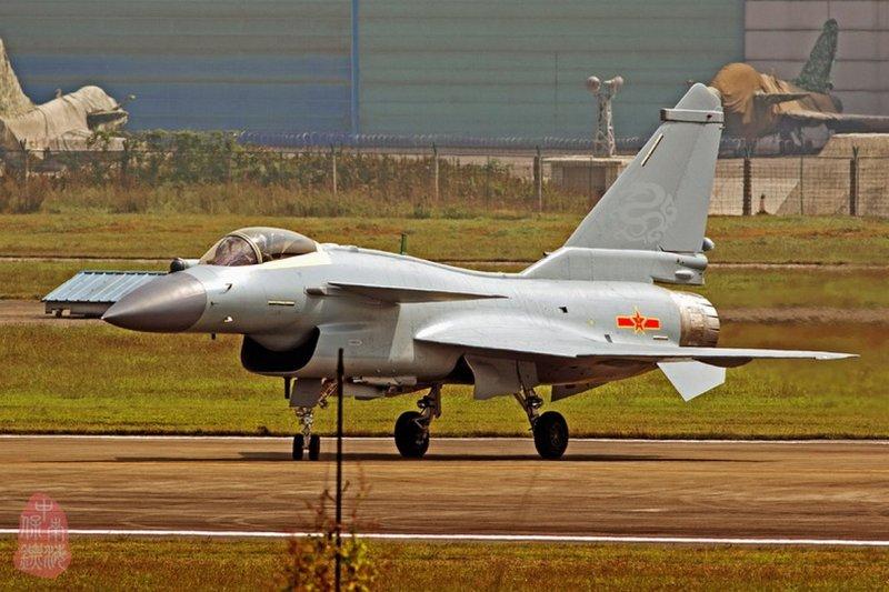 中國「殲-10」戰機的最新改良型「殲-10C」(取自網路)