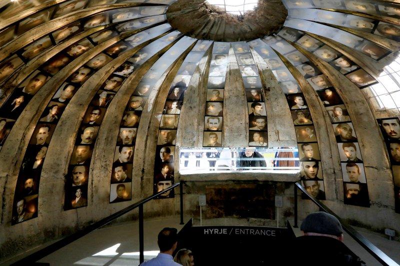東歐國家阿爾巴尼亞把冷戰時期的核彈碉堡,改造為紀念受共產黨迫害者的博物館。(AP)