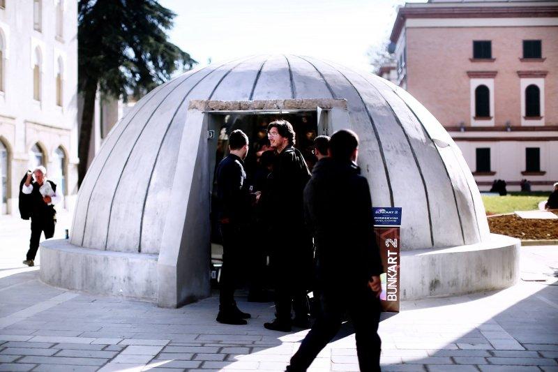 阿爾巴尼亞第一間政治犯紀念博物館落成。(取自Edi Rama臉書)