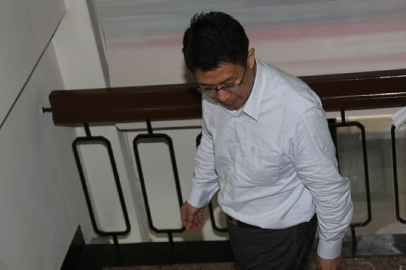 誰還記得前教育部長蔣偉寧請辭下台的身影?(資料照/吳逸驊攝)