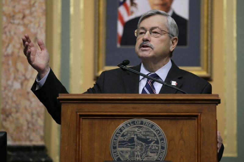 美國愛荷華州長布蘭斯塔是川普心中擔任駐中國大使的不二人選(美聯社)