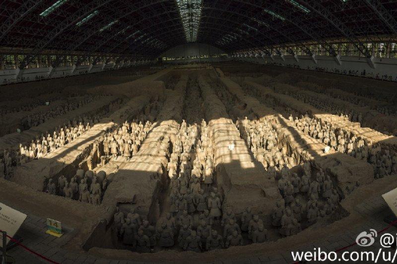 秦始皇帝陵博物院。