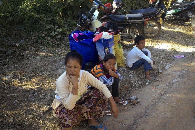 緬甸北部武裝衝突愈演愈烈,大批難民湧入中緬邊境的雲南。(美聯社)