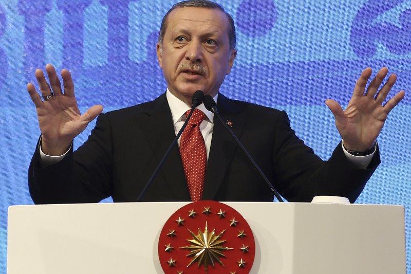 土耳其總統艾爾多安力推修憲,若成功他將可執政到2029年(美聯社)