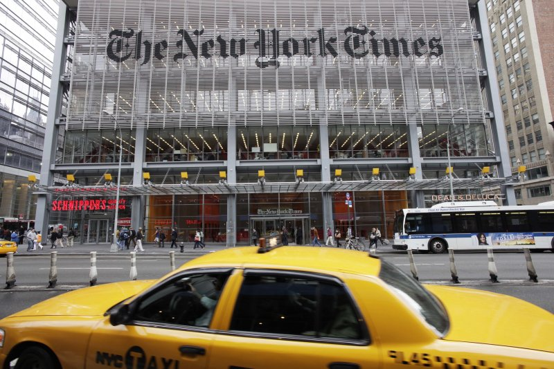 《紐約時報》(New York Times)(AP)