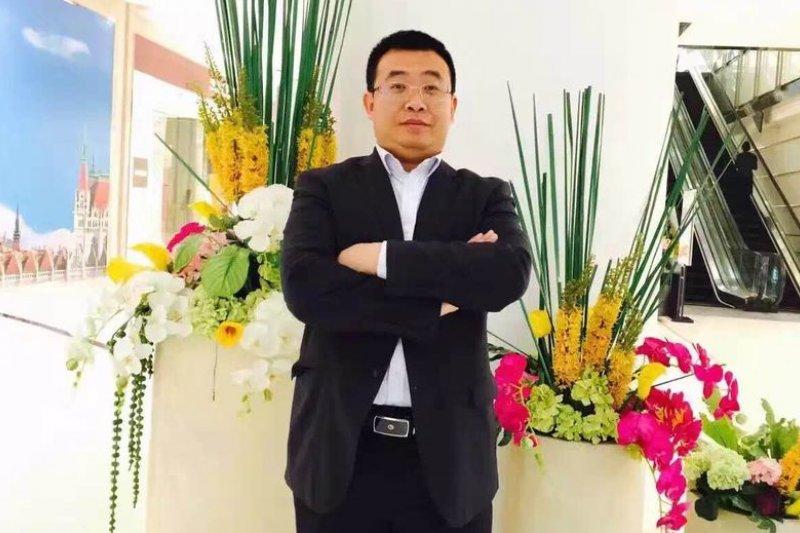 中國維權律師江天勇(江妻金變玲提供)