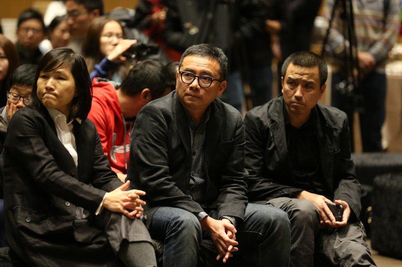 本屆創投會議獎項的評審:許月珍、黃志明與婁燁(由左至右),使頂尖的華語作品獲得更高關注。(攝影 / Bruce Lee)