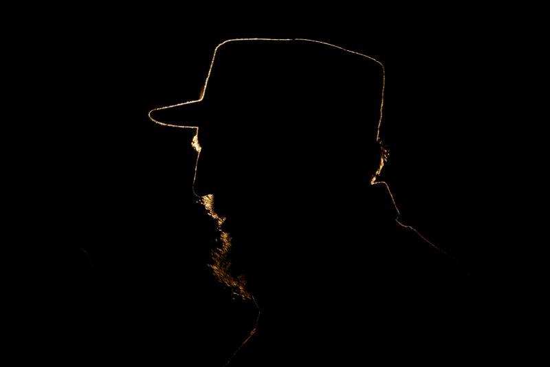 古巴革命傳奇菲德爾・卡斯楚(AP)