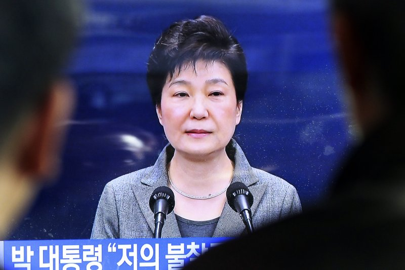 朴槿惠11月29日在青瓦台第三度道歉。(美聯社)