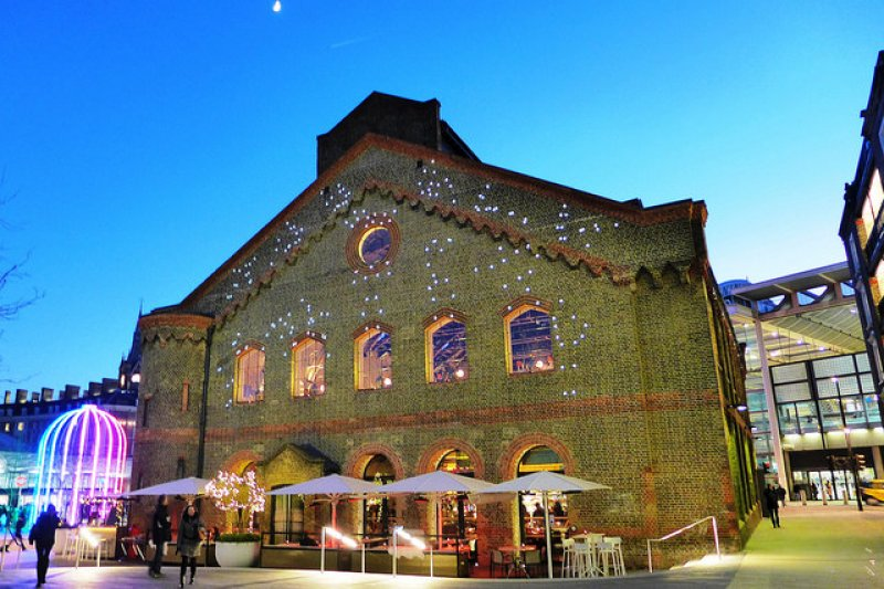 倫敦German Gymnasium餐廳2015年11月甫開幕,去年榮獲全世界最美麗餐館殊榮。(圖/Ewan Munro@flickr)
