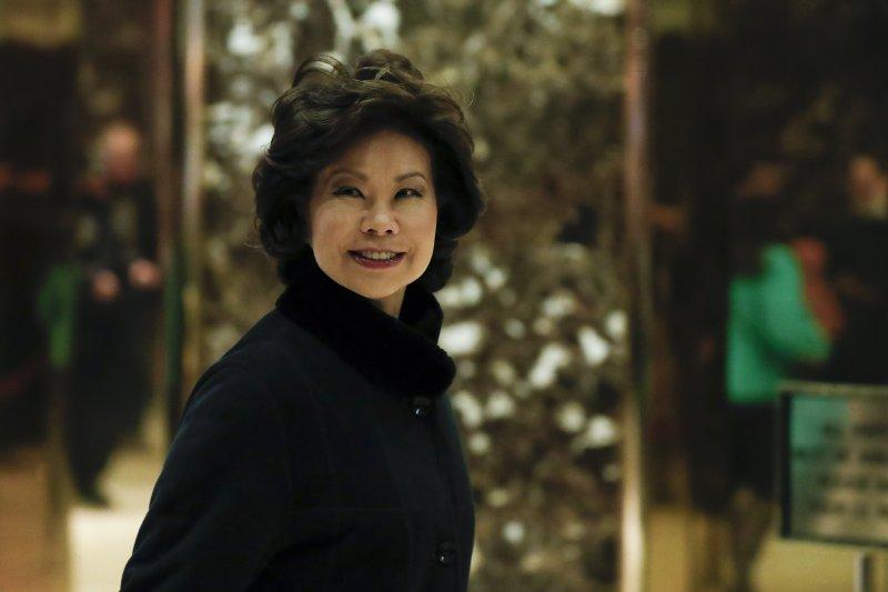 可望出任川普政府運輸部長的趙小蘭(Elaine L. Chao)(AP)